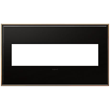 adorne® 4-Gang Oil-Rubbed Bronze Wall Plate