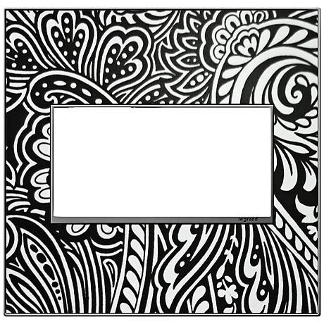 adorne® Magnesium Trim 2-Gang Customizable Wall Plate