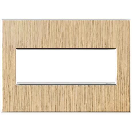 adorne® 3-Gang French Oak Wall Plate