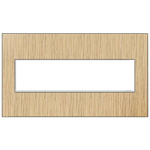 adorne® 4-Gang French Oak Wall Plate