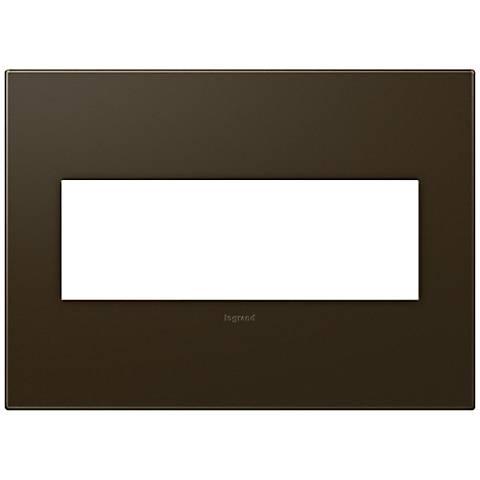 adorne® 3-Gang Bronze Wall Plate