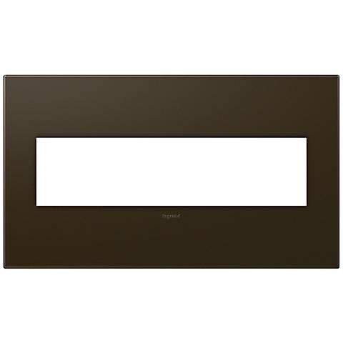 adorne® 4-Gang Bronze Wall Plate