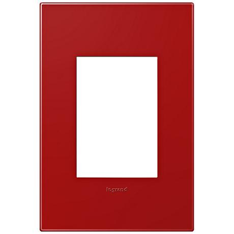 adorne® Cherry 1-Gang 3-Module Snap-On Wall Plate