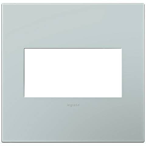 adorne® Pale Blue 2-Gang Snap-On Wall Plate