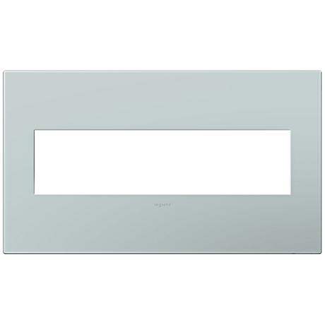 adorne® Pale Blue 4-Gang Snap-On Wall Plate