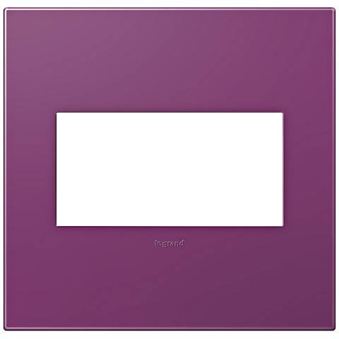 adorne® Plum 2-Gang Snap-On Wall Plate