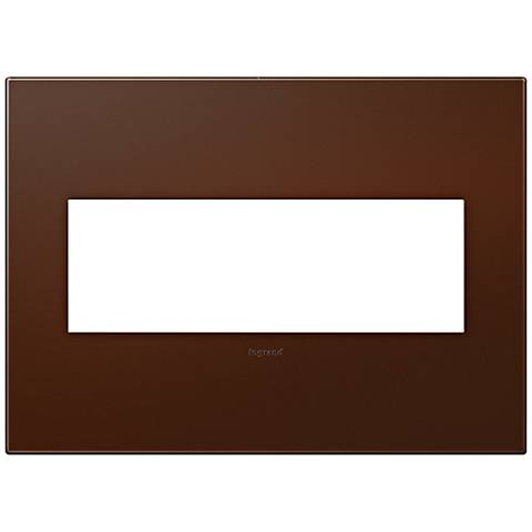 adorne® Soft Touch Russet 3-Gang Wall Plate