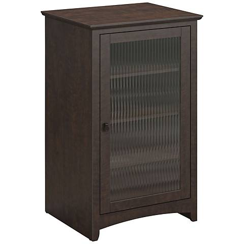 Buena Vista Madison Cherry 3-Shelf Storage Cabinet