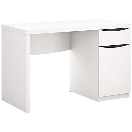 Montrese Modern White puter Desk 7R548