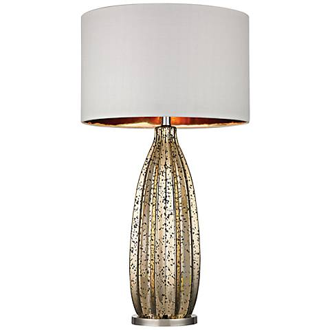 Dimond Pennistone Gold Mercury Glass Table Lamp