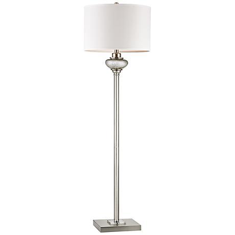 Dimond Edenbridge Antique Mercury Glass LED Floor Lamp