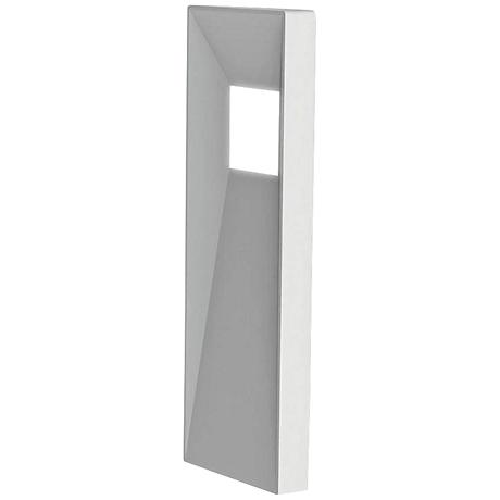 "WAC Infiniti 20"" High White LED Outdoor Wall Light"