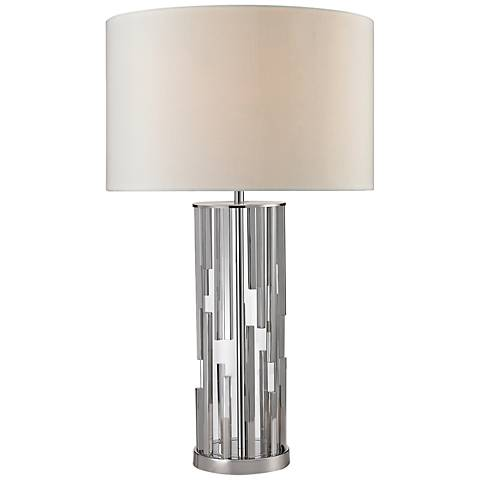 Livornio Clear Glass Table Lamp