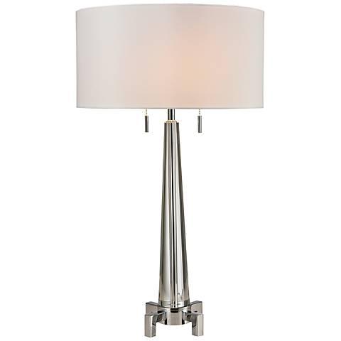 Dimond Bedford Chrome Crystal Table Lamp