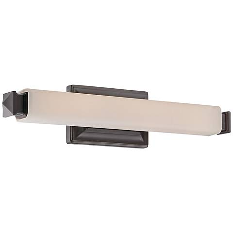 "WAC Bristol 20"" Wide Brushed Bronze LED Bath Bar"