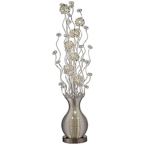 "Dimond Uniontown 63"" High Floral Display LED Floor Lamp"
