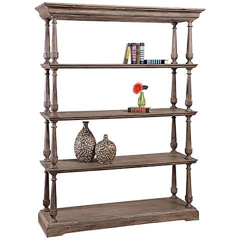 Pemberton Barnside 5-Shelf Bookcase
