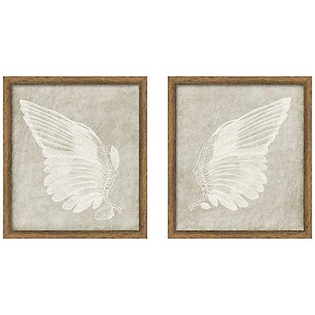 Wall Art Lamps Plus : Wings 32