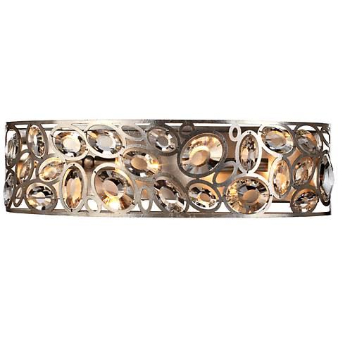 "Crystorama Sterling 24 1/2"" Wide Twilight Bath Light"