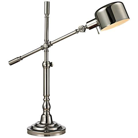 Dimond Stratsburg Polished Nickel Adjustable Desk Lamp