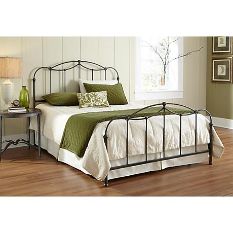Affinity Blackened Taupe Bed
