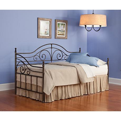 Capella Copper Chrome Daybed with Pop Up