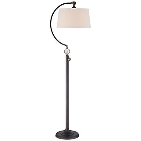 Quoizel Jenkins Oil Rubbed Bronze Floor Lamp