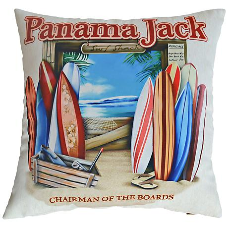 """Chairman of the Boards 18"""" Square Pillow Set of 2"""