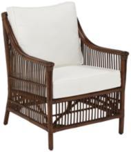 Panama Jack Bora Bora Cushioned Rattan Lounge Chair