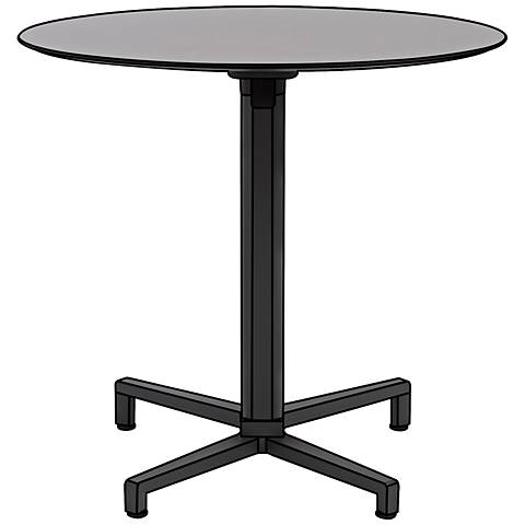Domino Quadruped Anthracite Outdoor Table Base