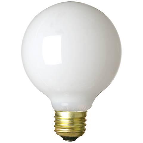 Westinghouse Vibration Resistant 60 Watt White G25 Bulb