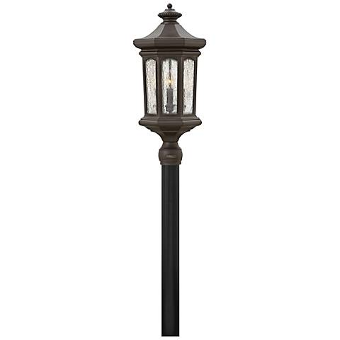 "Hinkley Raley 26 1/4""H Oil-Rubbed Bronze Outdoor Post Light"