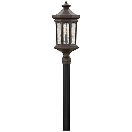 """Hinkley Raley 26 1/4""""H Oil-Rubbed Bronze Outdoor Post Light"""