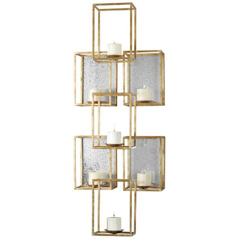 Metal Wall Art Lamps Plus : Uttermost Ronana Wall Sconce 46 1/2