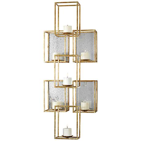 Wall Decor Lamps Plus : Uttermost Ronana Wall Sconce 46 1/2