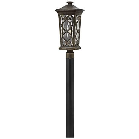 "Hinkley Enzo 21"" High Autum Outdoor Post Light"