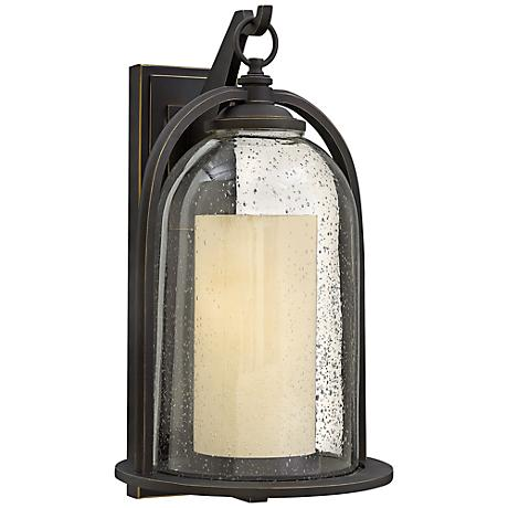 """Hinkley Quincy 11""""W Oil-Rubbed Bronze Outdoor Wall Light"""