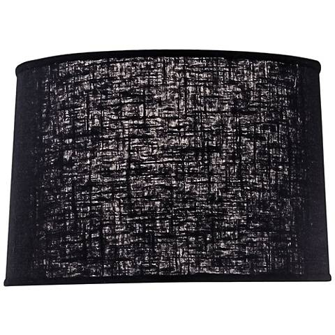 Stiffel Chelsea Black Softback Drum Shade 14x15x10 (Spider)