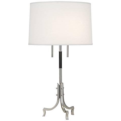 Robert Abbey Francesco Polished Nickel Table Lamp