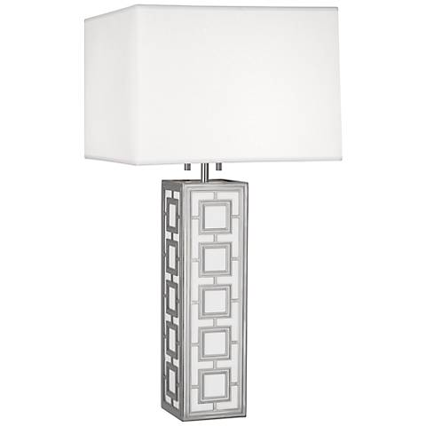 Robert Abbey Parker Polished Nickel Table Lamp