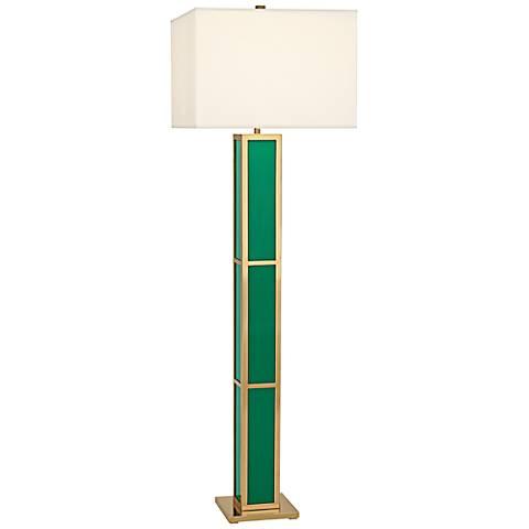 Jonathan Adler Barcelona Emerald Green Floor Lamp