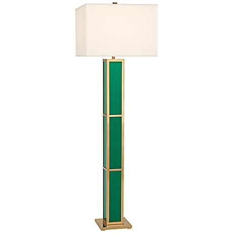 Jonathan Adler Barcelona Emerald Green Floor Lamp