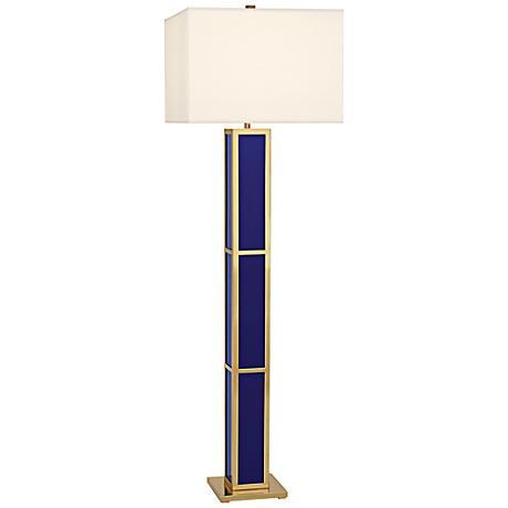 Jonathan Adler Barcelona Royal Blue Floor Lamp