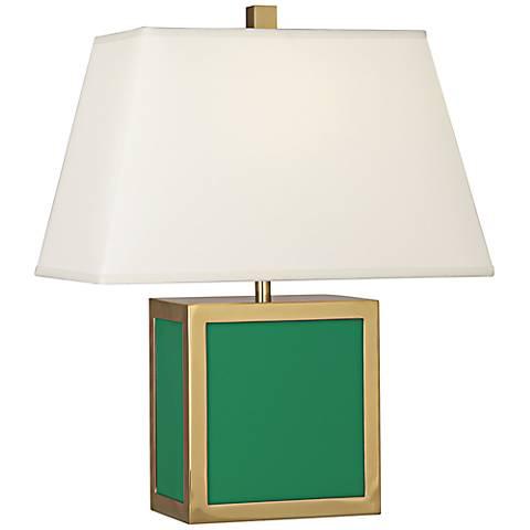 "Jonathan Adler 19 1/2""H Barcelona Emerald Green Accent Lamp"