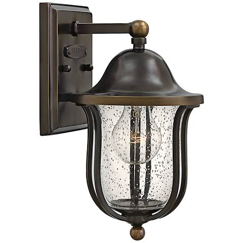 "Hinkley Bolla 6"" Wide Olde Bronze Outdoor Wall Light"
