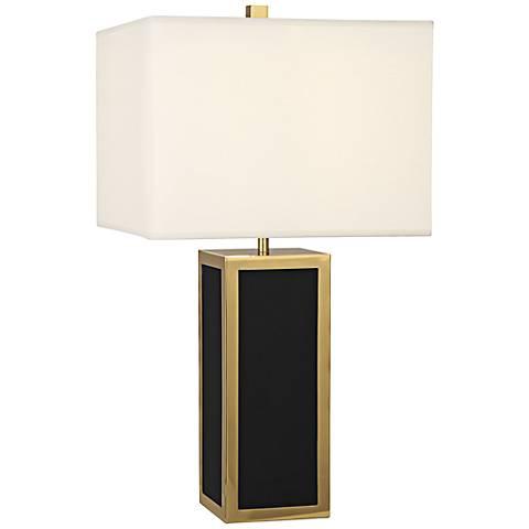Jonathan Adler Barcelona Black Table Lamp