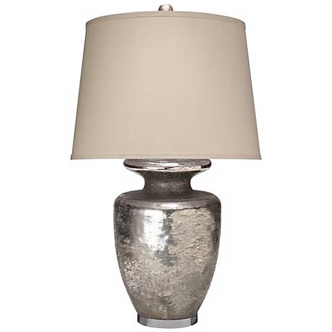 Jamie Young Jardin Textured Mercury Glass Table Lamp