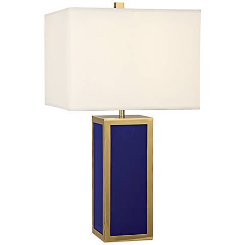 Jonathan Adler Barcelona Royal Blue Table Lamp