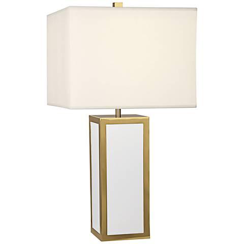 Jonathan Adler Barcelona White Table Lamp