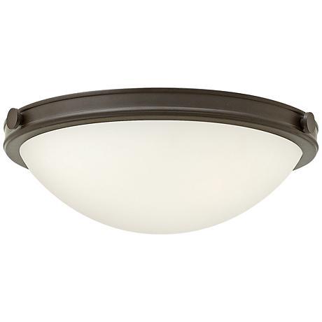 "Hinkley Foyer Maxwell 19""W Oil-Rubbed Bronze Ceiling Light"